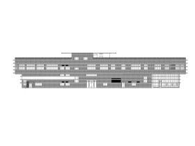 高层综合楼建筑施工图(含水暖电全专业图纸)