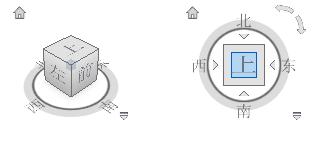 Revit模型布局:项目北和正北,不同的定位设置方式