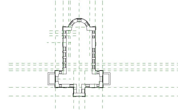 revit模型-教堂模型.rvt