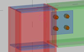 tekla基础梁柱连接自定义节点设置