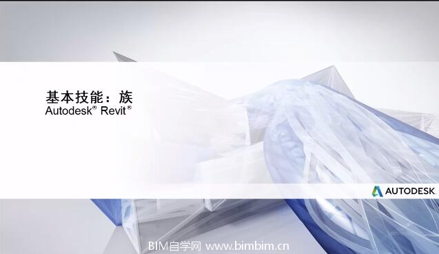 [Revit视频教程]族的基本技能