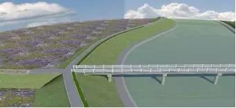 [BIM应用]桂林市临桂新区水系——太平河整治渡槽及人行桥改建工程