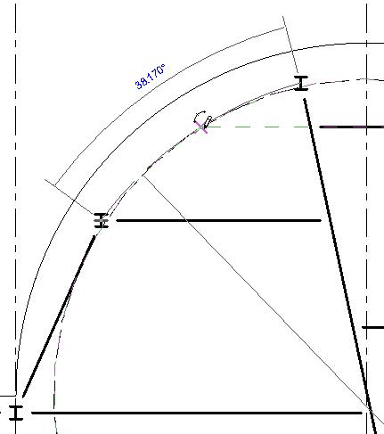 [Revit教程]绘制弯曲梁
