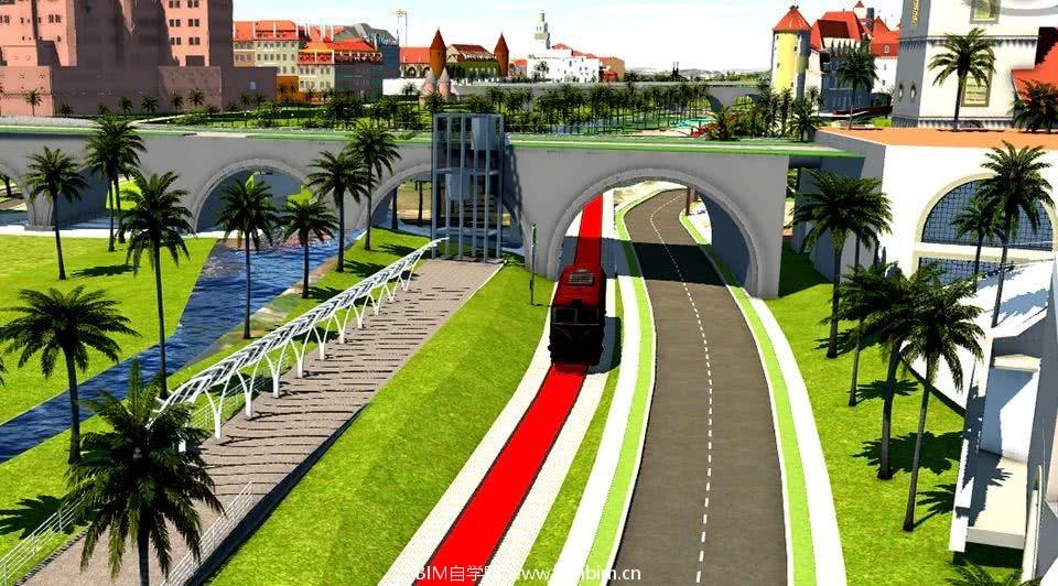 BIM+GIS:华为智慧园区有轨电车设计中对 BIM 的应用