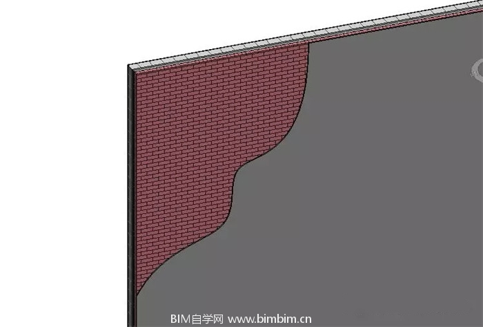 Revit中墙面分层展示的创建