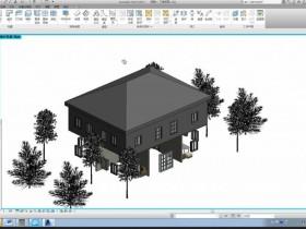 十分钟做一个最简单的Revit建筑模型