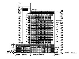 [BIM练习图纸]某办公楼建筑施工图
