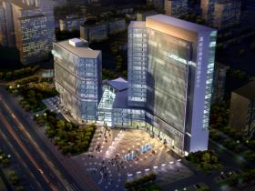 [BIM练习图纸]惠州市规划建设服务中心建筑设计方案(方案及施工图)