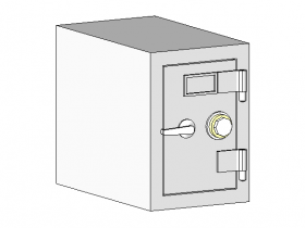 族文件-保险柜-Security-Safe.rfa