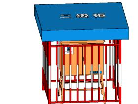 二级电箱外防护框.rfa