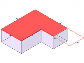 [revit教程]延伸屋顶面